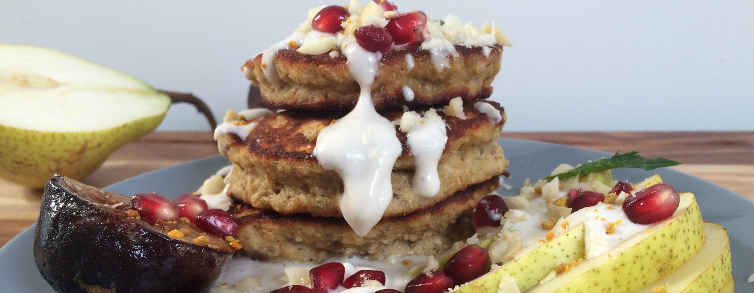 Chia & Buckwheat Banana Pancakes