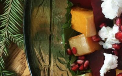 Roasted Beet, Pumpkin & Rocket Salad