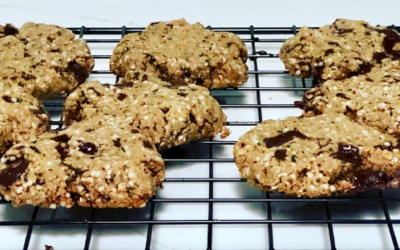 Flourless Peanut Butter Hemp Seed Cookies